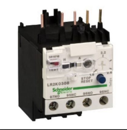 RELAY OVERLOAD MINIATURE CALSS 10 1.8 -2.6AMPS