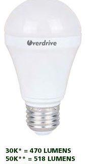 LED LIGHT BULB 3,000KELVIN 8 WATT DIMMABLE