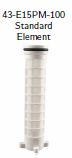 "1.5"" POLYESTER FILTER ELEMENT 100 MICRON MESH"