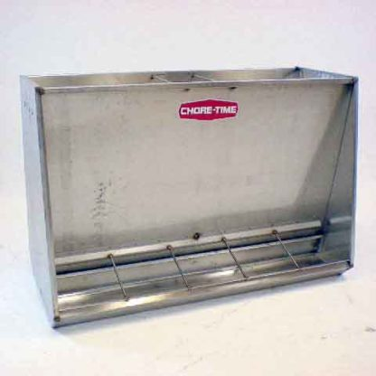 """STAINLESS FEEDER 5-HOLE DOUBLE FINISHER 50"""""""
