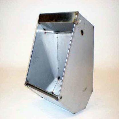 STAINLESS SOW HOG FEEDER FLAT BOTTOM 18GA 16""