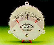 THERMALARM III NORMALLY OPEN WITH RED POINTER ADJUSTMENTS
