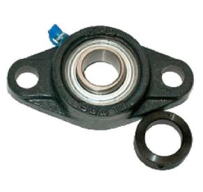"2-HOLE CAST FLANGE BEARING 1-1/8"" SHAFT"
