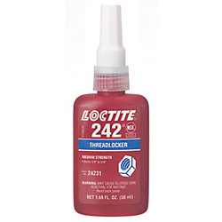 LOCTITE THREADLOCKER  242 REMOVABLE 50ML BOTTLE