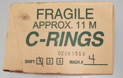 """16 GAUGE, 3/4"""" SHARP POINT, GALAVANIZED C-RING"""