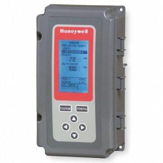 ELECTRONIC TEMP CONTROLLER W/ 2 TEMP IMPUTS, 4 SPDT RELAYS, 1 SENSOR, NEMA 4X ENCLOSURE