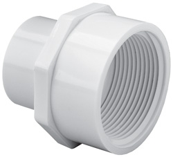 "1/2"" X 3/4"" SLIP X FPT SCHEDULE 40 REDUCING FEMALE ADAPTER"